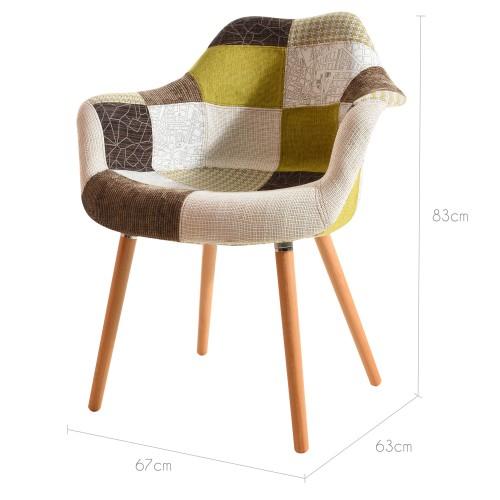 acheter chaise design multicouleur
