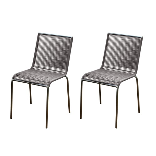 acheter chaise design taupe