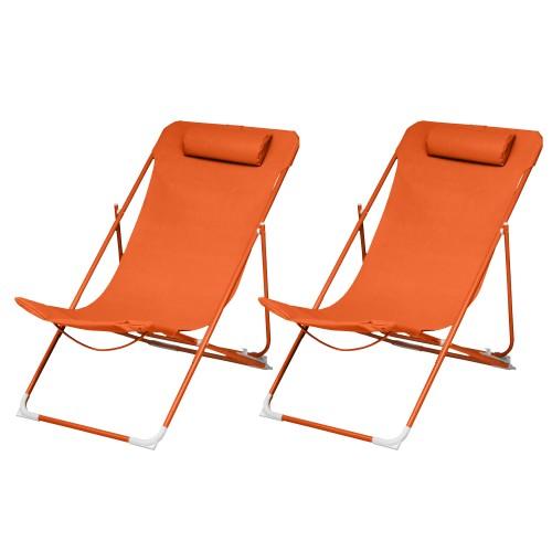 acheter chaise longue lot de 2