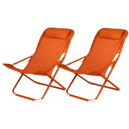 acheter chaise longue paprika