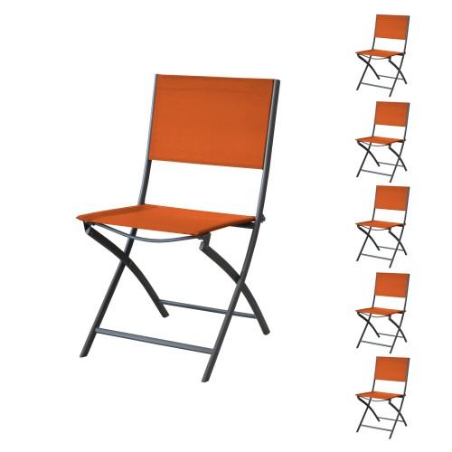 acheter chaise pliable paprika