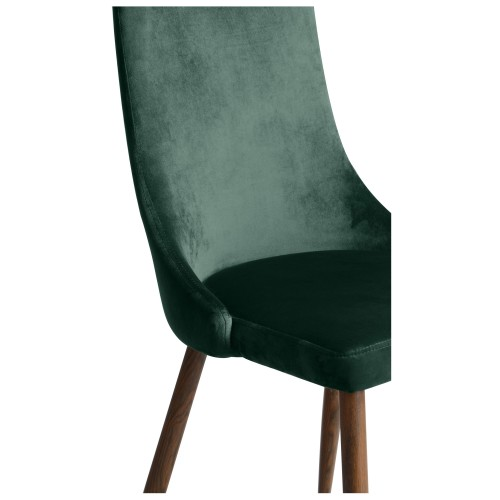 chaise vinni en velours vert lot de 2 commandez nos chaises vinni en velours vert rdv d co. Black Bedroom Furniture Sets. Home Design Ideas