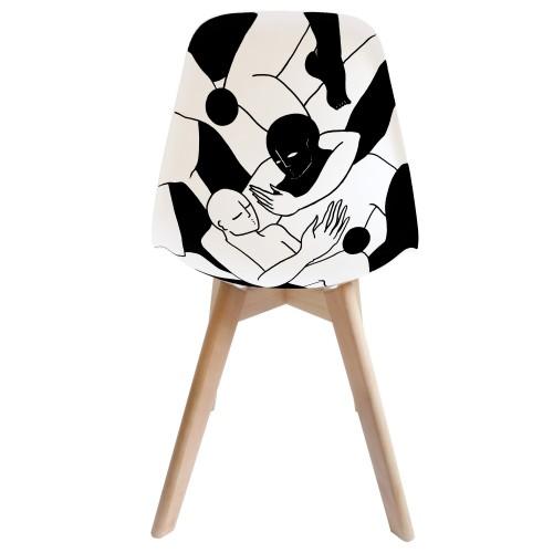 acheter chaise scandinave artiste lyon