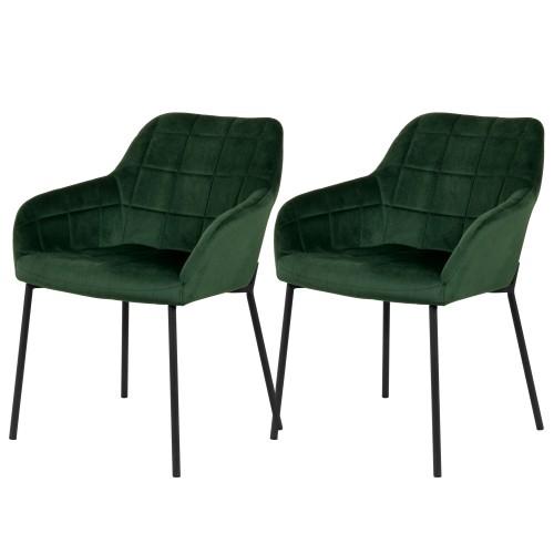 acheter chaise vertes lot de 2