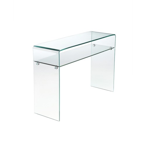 acheter console en verre rectangulaire