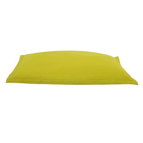 acheter coussin geant detente jaune