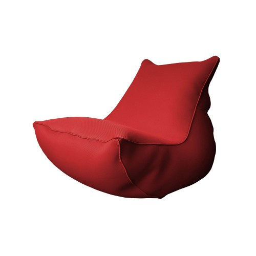 acheter coussin lounge rouge