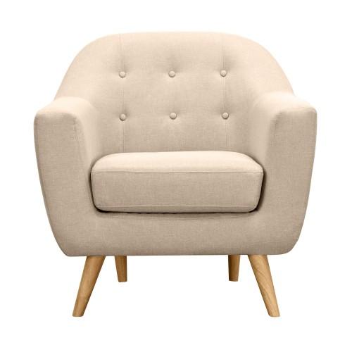 acheter fauteuil beige tissu pied bois Résultat Supérieur 5 Bon Marché Acheter Un Fauteuil Photographie 2017 Kjs7