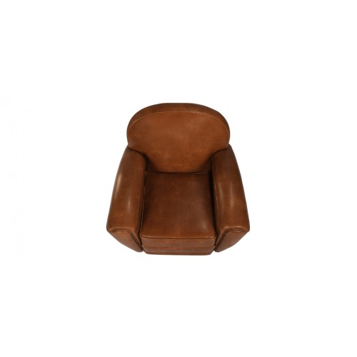 acheter fauteuil club marron camel