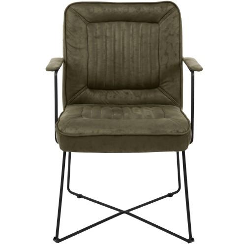 acheter fauteuil confortable vert