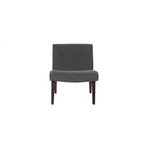acheter fauteuil gris pied bois