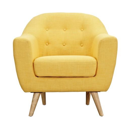 acheter-fauteuil-jaune-tissu