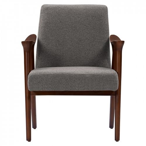 acheter fauteuil laine grise