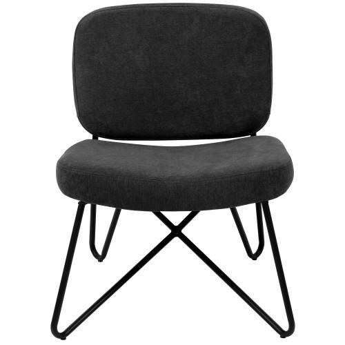 acheter fauteuil noir confortable