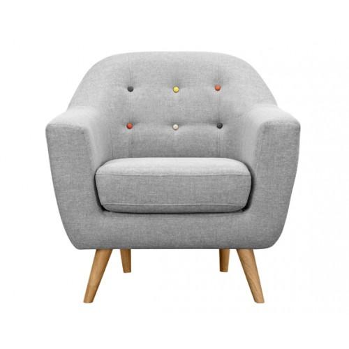 acheter fauteuil rio 3 places gris clair