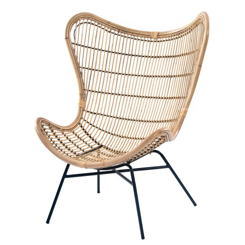 acheter fauteuil rotin naturel confort