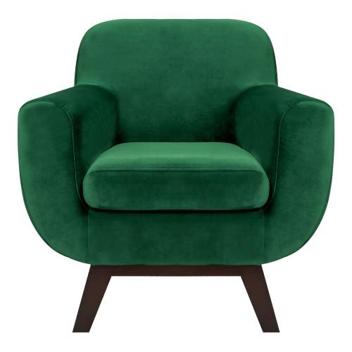acheter fauteuil velours vert