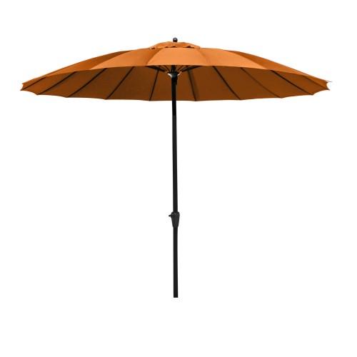 acheter grand parasol orange exterieur