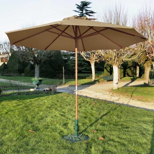 parasol en bois commandez nos parasols en bois design prix mini rvdd co. Black Bedroom Furniture Sets. Home Design Ideas