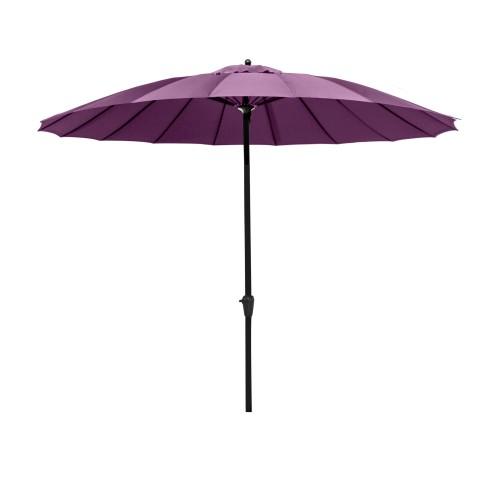 acheter grand parasol violet exterieur