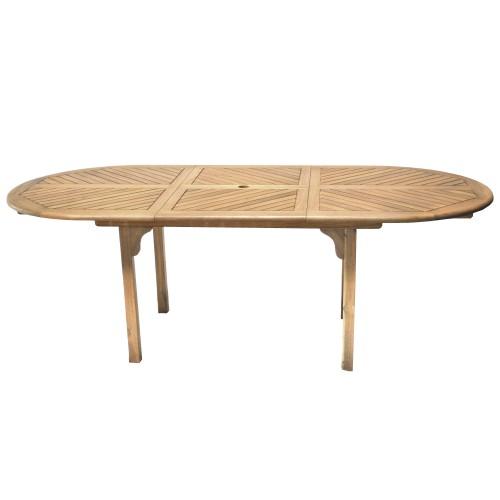 Table de jardin extensible Amazonia : achetez nos tables de jardin ...