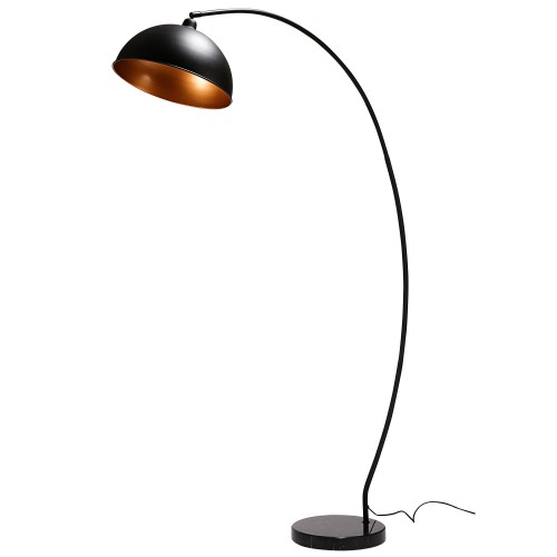 acheter lampadaire metal noir