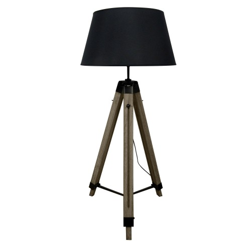acheter lampadaire reglable noir