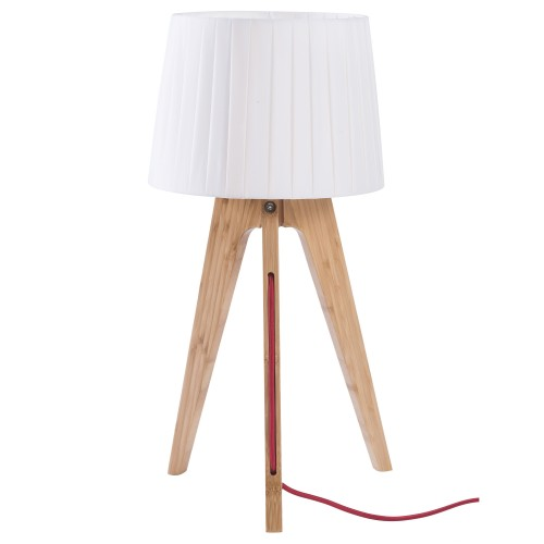 achat lampe de chevet freya bois clair