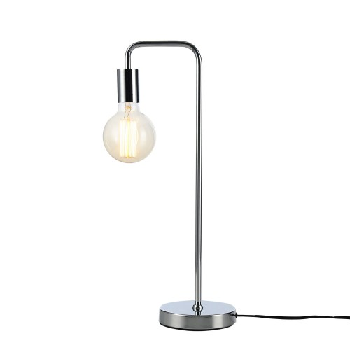 Lampe à poser Ysé chrome (ampoule incluse)