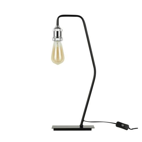 Lampe à poser Lyssa chrome (ampoule incluse)