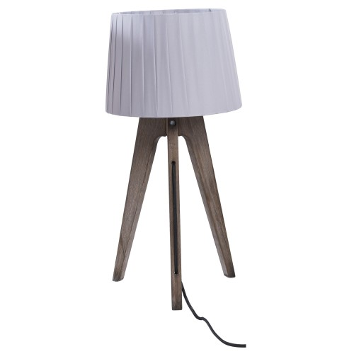 acheter lampe a poser grise