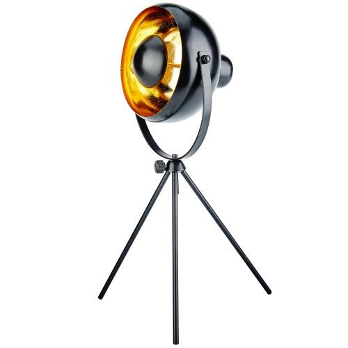 acheter lampe a poser orientable metal noir