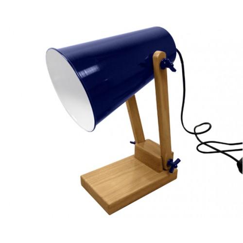 Lampe de bureau Ino bleu foncé