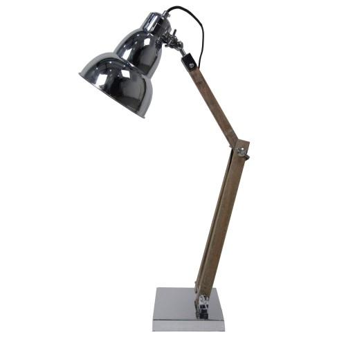 lampe de bureau bell chrome