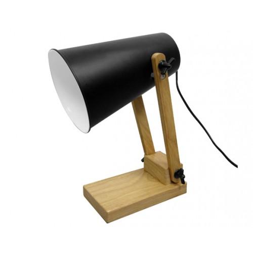 acheter lampe de bureau noire