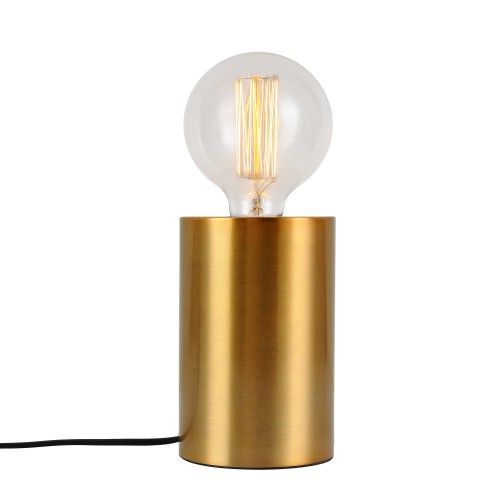 acheter lampe metal fintion doree