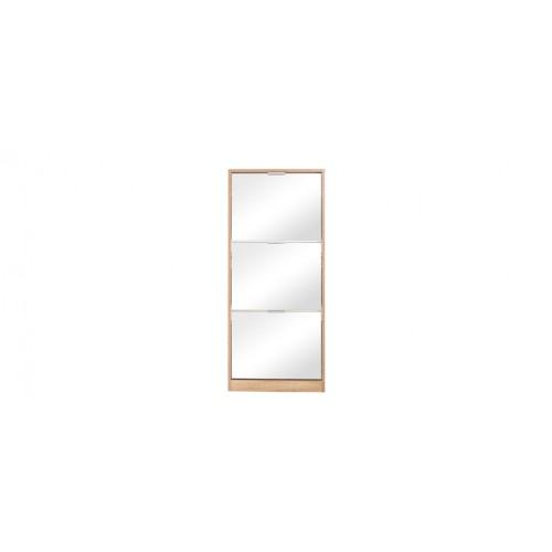 acheter meuble a chaussures bois avec miroir