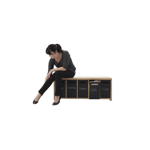 acheter meuble chaussures bois