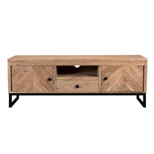 acheter meuble tv bois ethnique