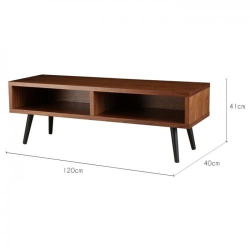 Meuble tv turku bois fonc d couvrez nos meubles tv for Acheter meuble tv
