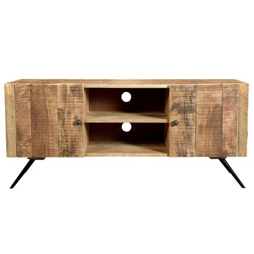 acheter meuble tv bois vintage