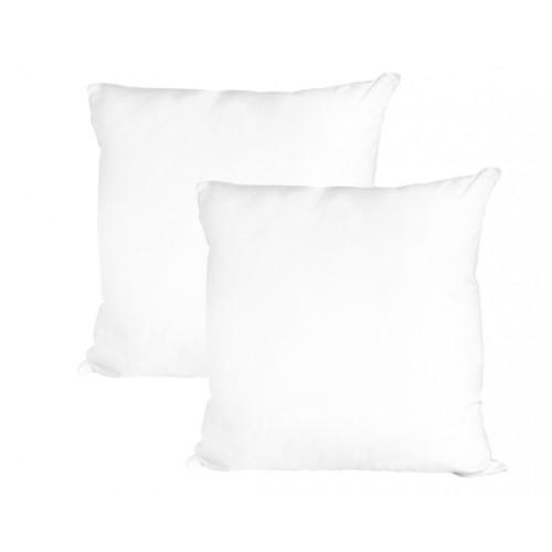 acheter oreiller fibre creuse 60 x 60 cm lot de 2
