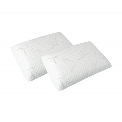 acheter oreiller memoire de forme lot de 2