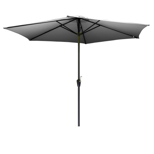 acheter parasol exterieur gris