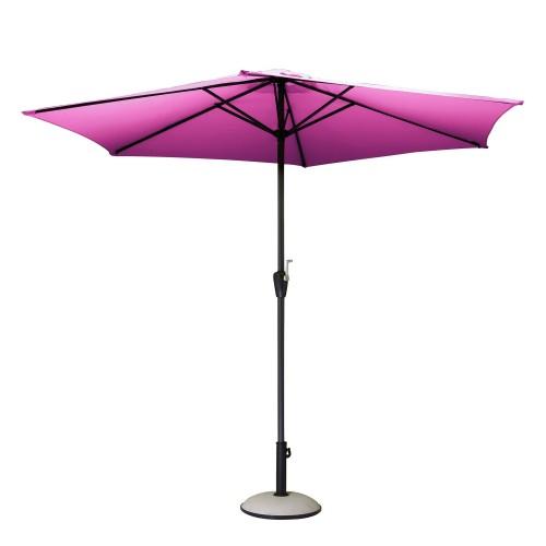 acheter parasol fushia design