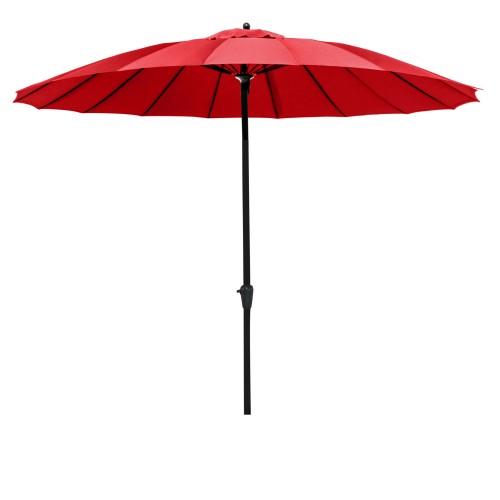 acheter parasol rouge exterieur