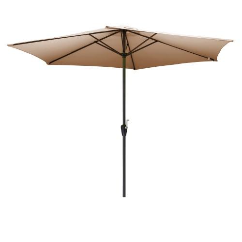 acheter parasol terrasse taupe pratique