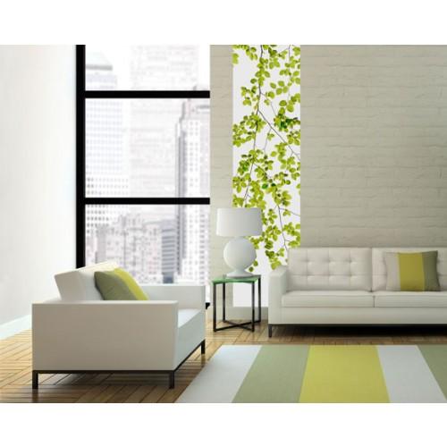 acheter-poster-60x240cm-feuilles-vertes-pas-cher