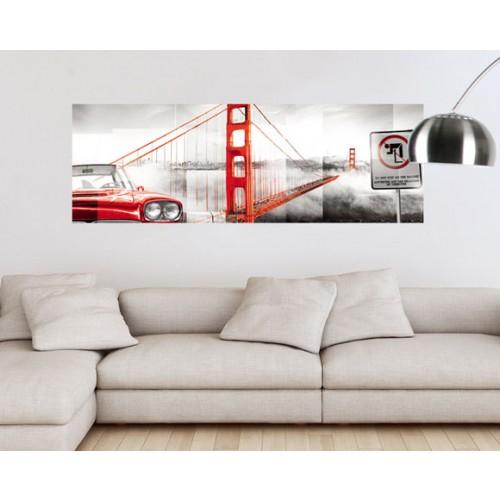 acheter poster horizontal 150x50 cm pont pas cher