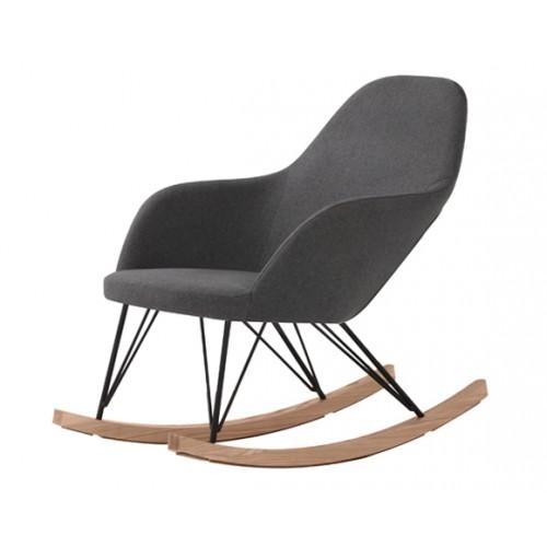 acheter rocking chair malibu gris